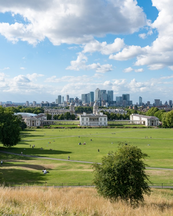 View from the Greenwich Observatory Hill